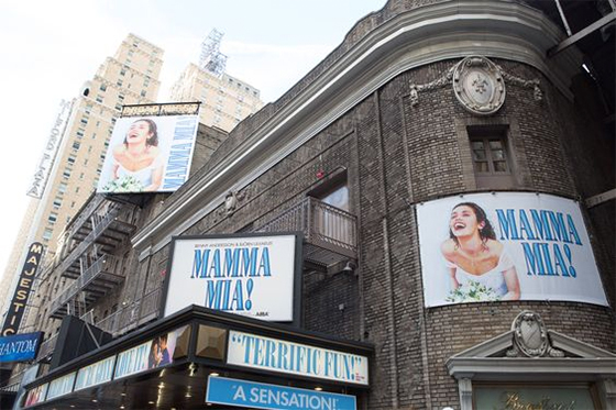 MAMMA MIA! at Broadhurst Theatre on Broadway