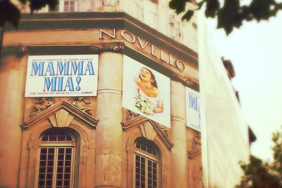 MAMMA MIA! at Novello Theatre, London