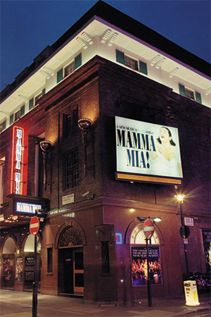 MAMMA MIA! at The Prince Edward Theatre in London's West End