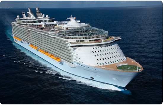 mamma-mia sets sail on the royal caribbean image