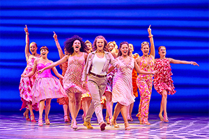 MAMMA MIA! UK Tour 2017 cast - Photography by Brinkhoff/Mögenburg