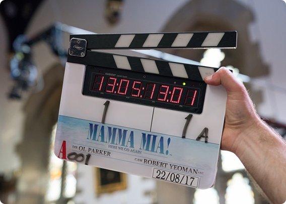 UNIVERSAL PICTURES BEGINS PRINCIPAL PHOTOGRAPHY ON MAMMA MIA! HERE WE GO AGAIN