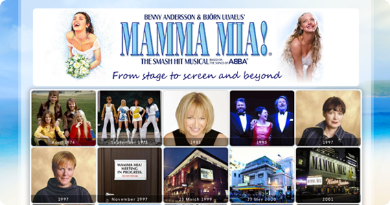 MAMMA MIA! CELEBRATES ITS 18TH BIRTHDAY!