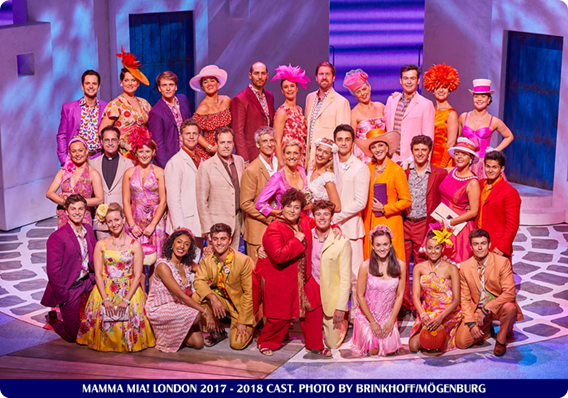 MAMMA MIA! LONDON WELCOMES ITS NEW CAST
