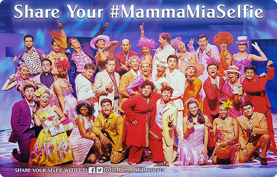 SHARE YOUR MAMMA MIA! SELFIE WITH US