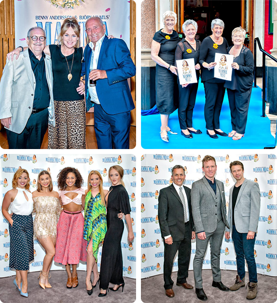MAMMA MIA! UK Tour Leeds Press Night. Photography by Anthony Robling