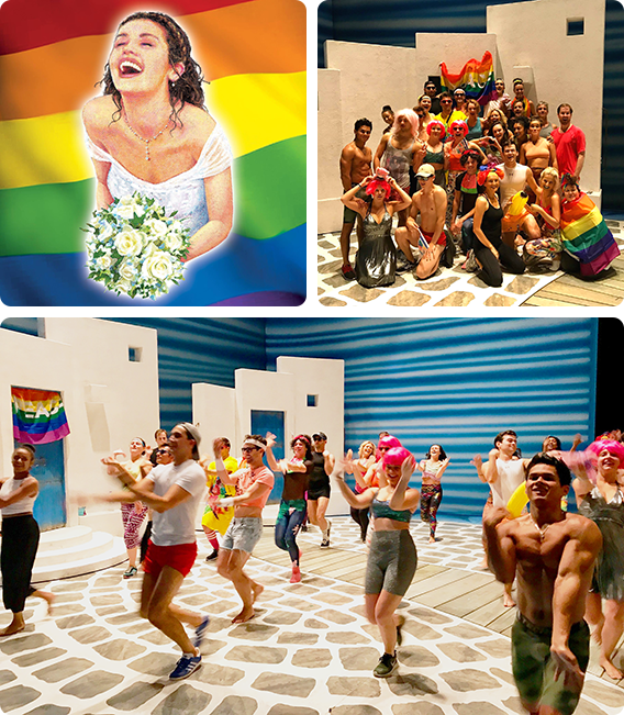 MAMMA MIA! SUPPORTS PRIDE IN LONDON