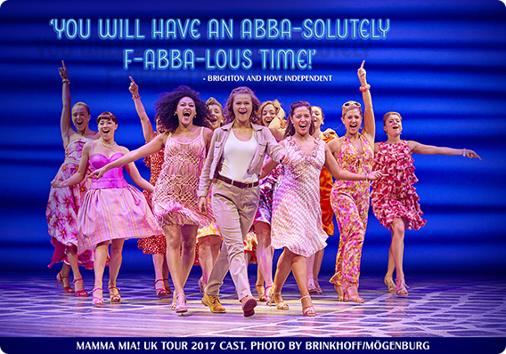 THE MAMMA MIA! UK TOUR GETS F-ABBA-LOUS REVIEWS IN BRIGHTON BEFORE MOVING TO ABERDEEN