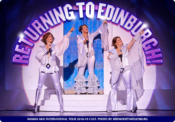 NEW MAMMA MIA! UK AND INTERNATIONAL TOUR TO OPEN IN EDINBURGH