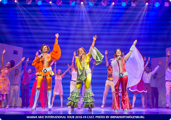 THE MAMMA MIA! INTERNATIONAL TOUR HAS ITS FINAL CURTAIN CALL