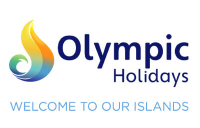 Olympic Holidays Welcome to our Island logo