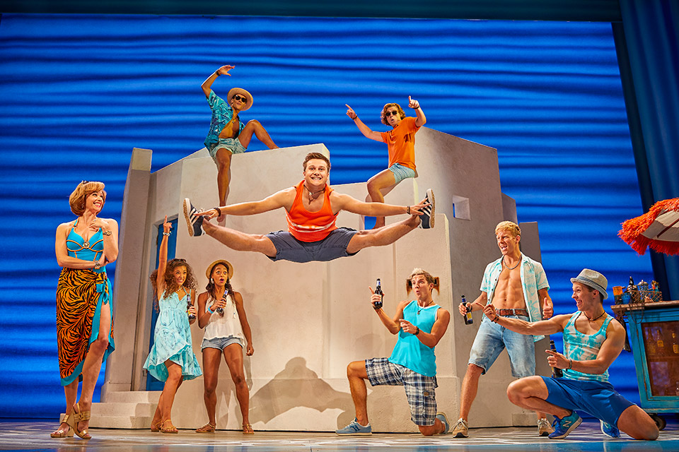 MAMMA MIA! UK & International Tour 2019 - 2020 cast.