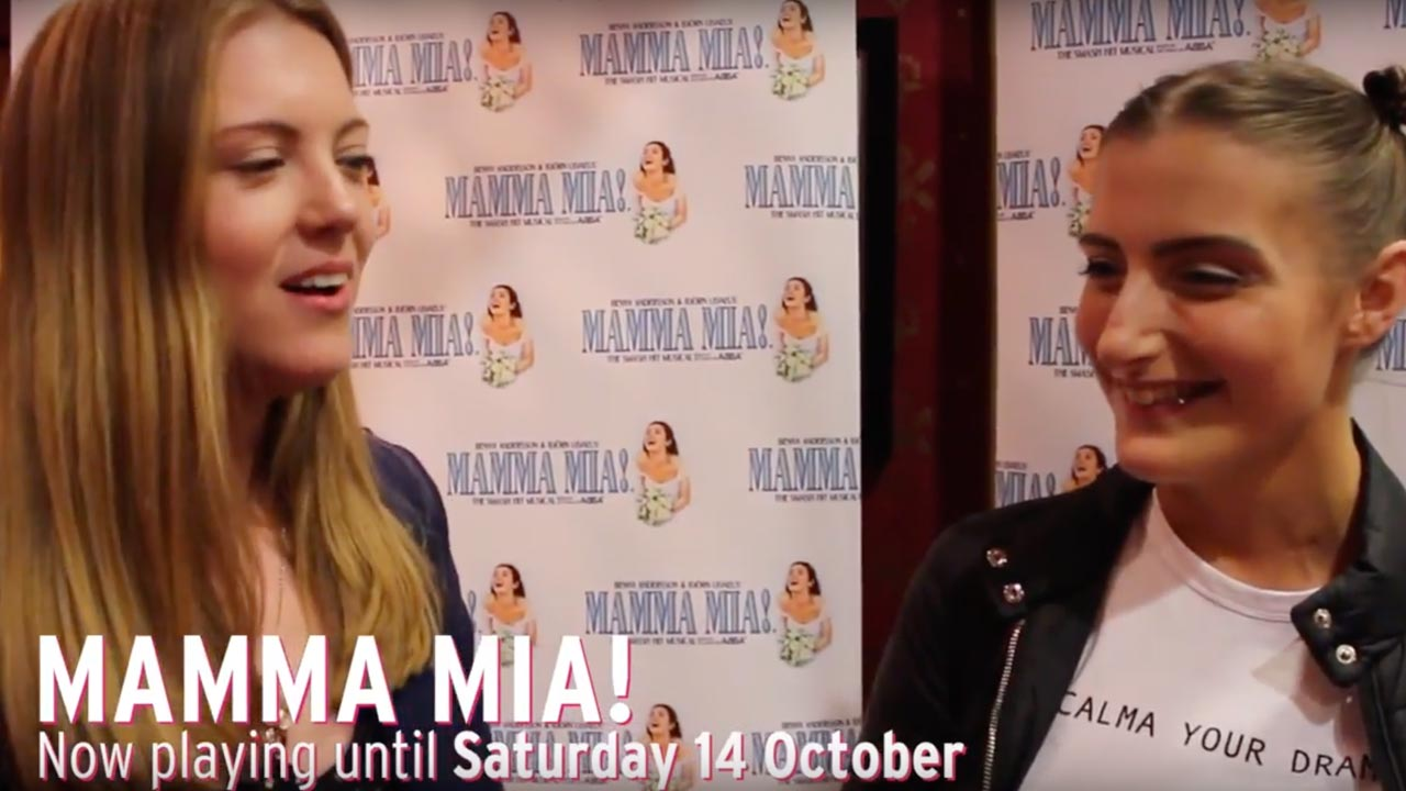MAMMA MIA! UK Tour – Audience Reactions at His Majesty's Theatre, Aberdeen from 19 September - 14 October 2017